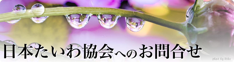 日本たいわ協会へのお問合せ