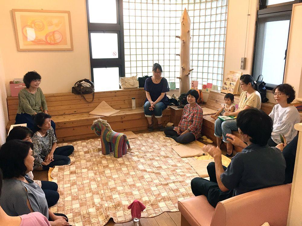 日本たいわ協会「子育てセラピー」風景